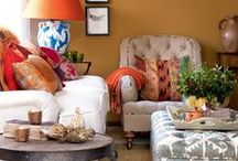 living areas/sofas / by Phyllis Howell