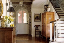 foyer, hallway, stairs / by Phyllis Howell