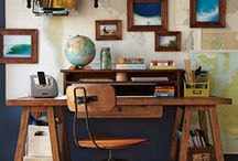 desk/office / by Phyllis Howell