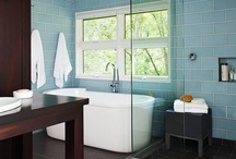 bathroom makeover / by Shelli Caryn Ellis