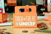 Trick or Treat for UNICEF / What started out more than 60 years ago to help children abroad during World War II has evolved into a revolution driven by kids. Thanks to you, girls and boys all over the world receive the help they need for happy and healthy lives. http://www.trickortreatforunicef.org/ / by UNICEF Market