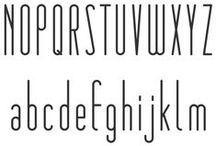 fonts / by Jackie Barnett