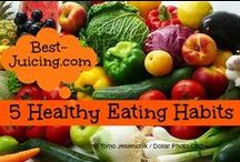 Best Eating Habits / Help your family towards health with the best eating habits from the get go! One of the most important things is to read food labels when shopping - teach this to your kids as well. And go for wholesome, one-ingredient foods. My favorite choices are nuts, fruits, vegetables and seeds. Yum! Learn to stock your kitchen with a variety of quick-to-prepare, healthy goodies rather than sugar-laden processed junk. This will make it super-easy to adopt the best healthy eating habits.