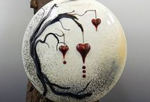 Hearts & Crosses / by CreatedWithFire Studios & Designs
