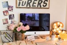 Office Ideas / Thinking about redecorating my office, yo.