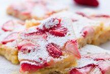 Desserts: Bars & Brownies