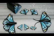 Butterfly, Dragonflies & Hummingbird Art / Tutorials / Tutorials & Drawings