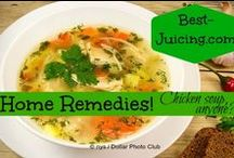 Best Home Remedies For Better Health / Nature often gives us the best home remedies! Of course, we need to have some common sense and know when more is needed. But, do you know dr. Mercola's simple remedy for when colds and flu strike? Or how one small change can stop the spread of germs? Or how about chicken soup? Does it really help for colds and flu? Well, check out the research... Easy home remedies will always be in demand and provide interesting reading!