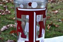 Go Aggies / Texas A&M, Bleed Maroon, And Gig' Em Aggies  / by Addie Everson