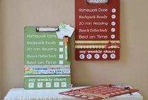 Clip boards / by Gina Vanlangendonck