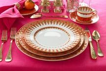 Food - table setting / Table settings, table centerpieces, party settings and dinner ware
