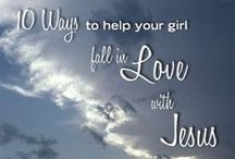 10 Ways to Fall For Jesus / 10 Ways to Help Your Girl Fall For Jesus | February 2015 | part of the monthly #youandyourgirl series by Lynn Cowell