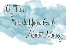 10 Money Tips / 10 Tips to Teach Your Girl About Money | April 2015 | part of the monthly #youandyourgirl series by Lynn Cowell