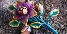 Flowers: Tutorials : Polymer Clay