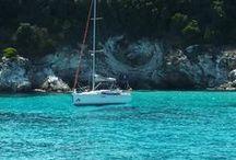 Paxos - Antipaxos / Die griechische Insel Paxos im Ionischen Meer und die winzige Nachbarinsel Antipaxos.