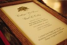 Rustic Wedding Invitations / Rustic style wedding invitations.