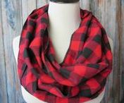 Infinity Scarves / Accessories, Scarves, Plaid scarves, infinity scarves, flannel scarves