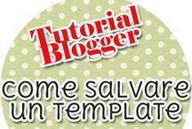 Tutorial Blogger / Tutorial blogger