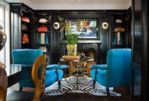 Palette/Big Bold Black / by Traditional Home