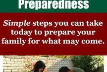 Prepping / Part of preparing to stand firm to the end means making physical preparations. Pray and ask God to show you how you should prepare for your family to endure.   Here are some ideas and resources that we've curated from around the web.