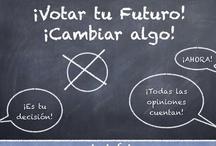 Mi voto cuenta / Campaña de la clase 9c (curso 2012/2013) para animar al voto