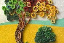 Crafts - quilling / by Ann Cothron