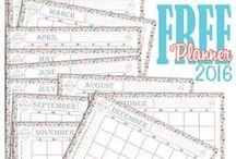 Planning free printable