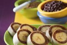 Yummy healthy foods for Ella Rae / by Tricia Woolbright