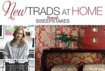 New Trads at Home: Katie Lydon / VOTE for a chance to win a $2,500 gift certificate from Ethan Allen! NYC-based New Trad designer Katie Lydon was inspired by a legendary New York landmark to create a living room concept featuring furniture and decorative accessories from Ethan Allen. Check out her board – and others – and vote for a chance to win at www.traditionalhome.com/ethanallen.