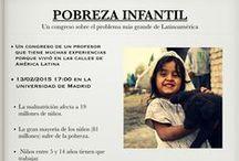pobreza infantil en Hispanoamérica / un proyecto del GK Es 11 (curso 2014/15)