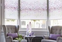 Floral Interiors / Florals are oh-so-stylish, and a look that never dates. We've put together some of our favourite ways to use the gorgeous patterns, from Eastern florals to pretty pastel shades. It's a look that will work everywhere from the living room to the bedroom, and is best finished off with a stylish blind at the window!
