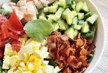 {salads} / salads, salad recipes, easy salads, healthy salads, paleo salads, vegan salads, make ahead salads, salads for summer, easy summer salad, easy salad recipes