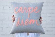 Nice Pillows / Ideas para los cojines! / by Coto Mendoza