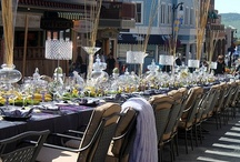 Table pretties...
