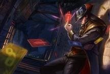 LoL (Official Art) / League of Legends / by Thomas Vu