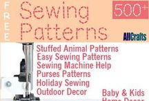 Free Sewing Patterns / by AllCrafts.net - The Free Crafts Network