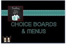 CHOICE Boards and Menus