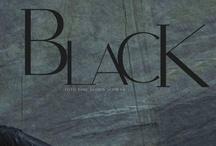 The Blackest Black on Black