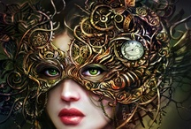 Masks and Masquerades / by Tanya.... Oh, Tanya....