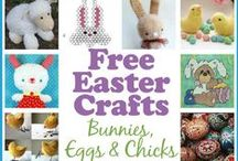 Easter Crafts / by AllCrafts.net - The Free Crafts Network