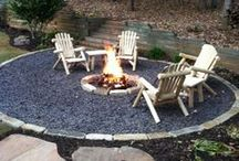 House: Backyard / Backyard Firepits, Walkways, Sheds etc