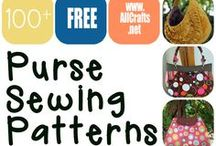 Free Purse Sewing Patterns / Tons of free sewing patterns for purses, totes, and bags! Enjoy! / by AllCrafts.net - The Free Crafts Network