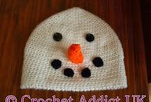 Free Crochet Hat Patterns / by AllCrafts.net - The Free Crafts Network
