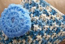 crochet dish cloths, scrubbies, pot holders,coasters / by Kelly Thompson