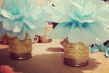 Party ideas / Center piece ideas and other goodies to make a party successful