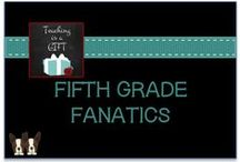 Fifth Grade Fanatics / This is a collaborative board created for fifth grade teacher bloggers from all over the world.