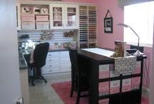 House: Craft Organization / Craft room organization