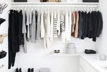Capsule Wardrobe / Minimal and capsule wardrobes for travel and home.