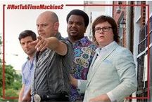 "Hot Tub Time Machine 2 / When Lou (Rob Corddry), who has become the ""father of the Internet,"" is shot by an unknown assailant, Jacob (Clark Duke) and Nick (Craig Robinson) fire up the time machine again to save their friend..  http://hottubmovie.tumblr.com/"