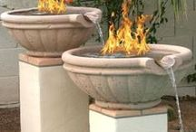 Fire On Water / Create a one of a kind fire feature for your pool, pond or fire bowl with one of our fire on water features